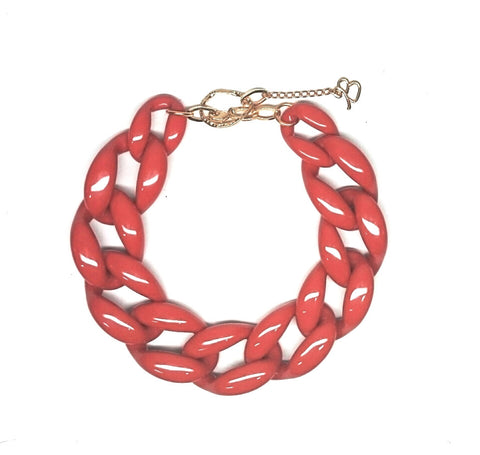 Nathan Necklace - Orange
