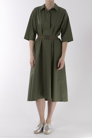 Deck Cotton Dress - Khaki