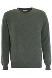 Wool Round Neck Sweater - Landscape