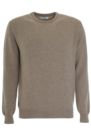 Mushroom wool round neck sweater