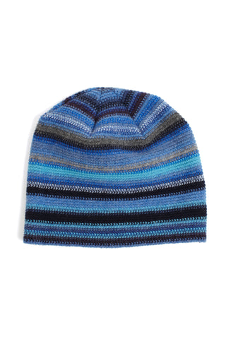 Lambswool Beanie Hat - Midnight Angel