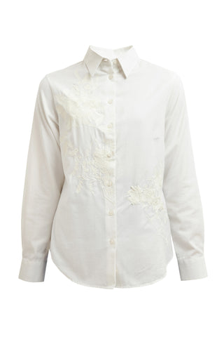 Bernadette Brushed Shirt - Cream