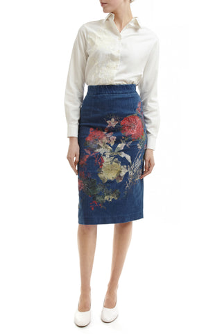 Betsy Embroidered Skirt