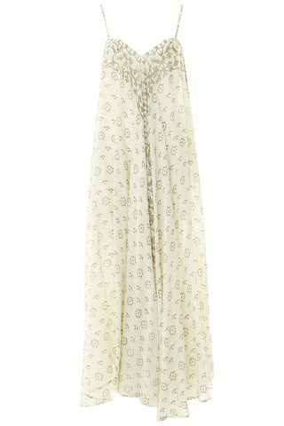 Java Cotton Maxi Dress