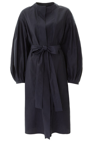 Cezanne Cotton Coat - Navy