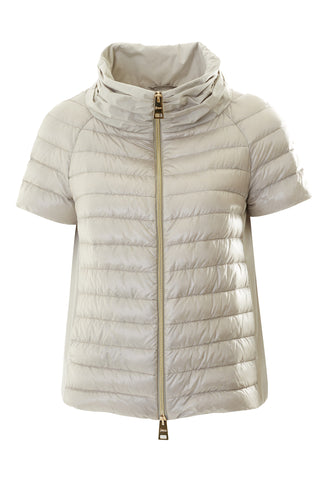 Feather Padded Flared Back Jacket