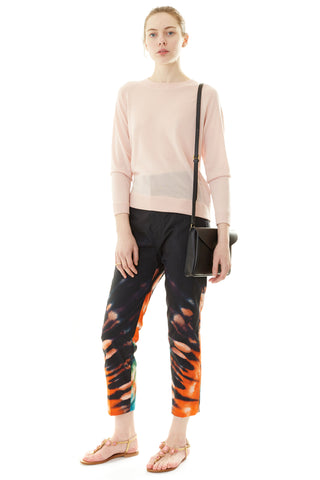 Prior Printed Cropped Trousers