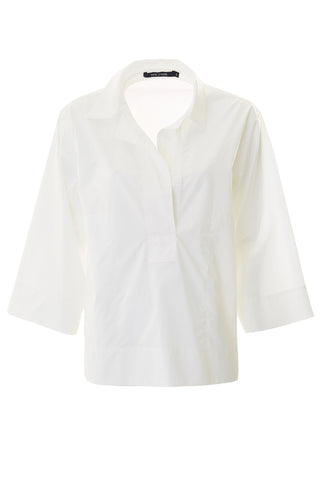 Bahamas Cotton Shirt - White