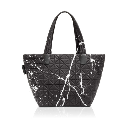 Vee Tote Medium - Black Splatter