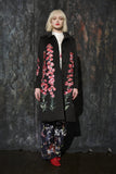 Fern Embroidered Coat