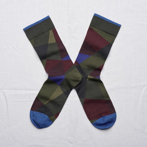 Army Green Crossroads Socks