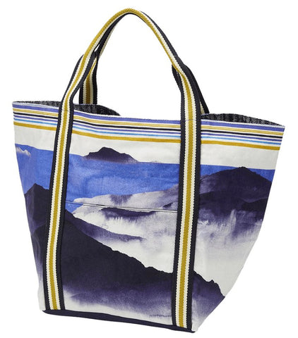 Printed Cotton Canvas Tote Bag Bali