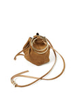 Suede Ring Bag