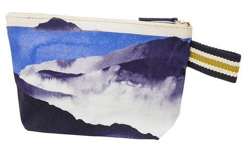 Printed Cotton Canvas Pochette Bali