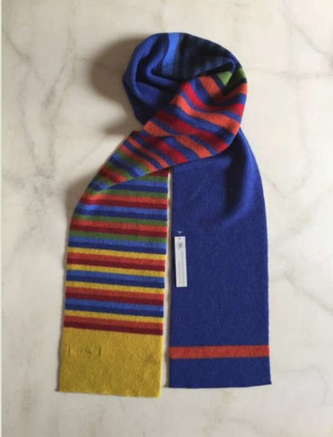 Belllany Lambswool Scarf - Blue