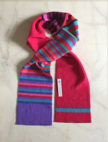 Belllany Lambswool Scarf - Pink