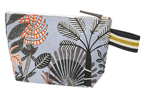Printed Cotton Canvas Pochette Jungle
