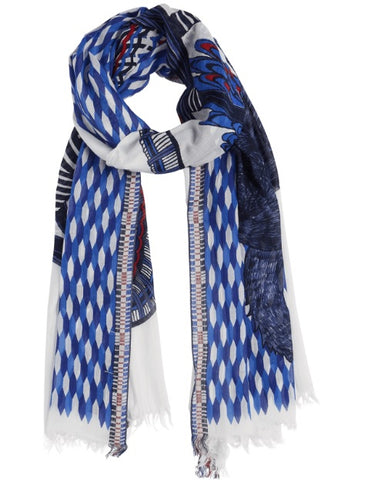 Printed Cotton Scarf Coco & Cachou