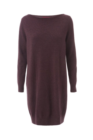 Cashmere Dress - Blackberry