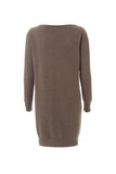 Cashmere Dress - Brown