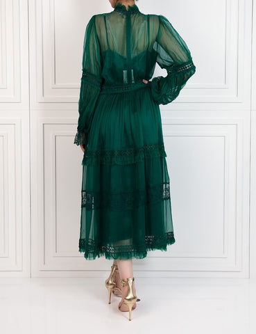 Lotus Gown - Green