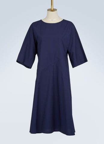Devotion Cotton Dress - Matelot