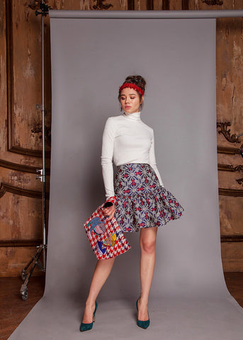 Kaleidoscope Mini Skirt