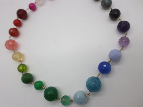Gembuds Semi Precious Stone Necklace