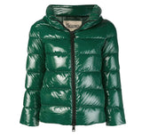 Padded Zip Jacket - Green