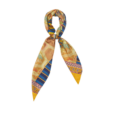 Aloe Scarf - Blue