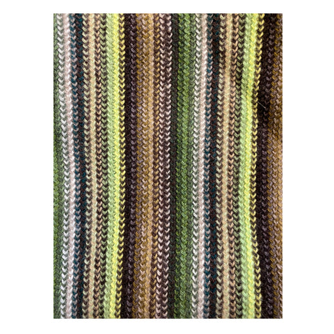 Lambswool Scarf - Green