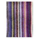 Lambswool Scarf - Purple