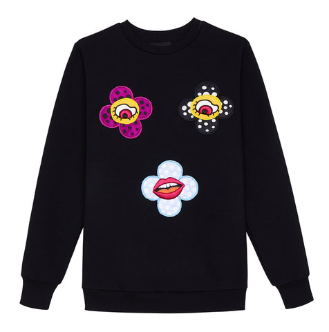 Flower Eyes Sweatshirt
