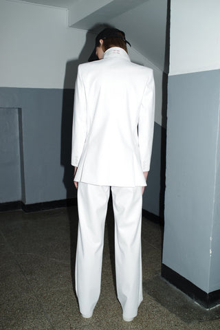 Sibyl White Trousers
