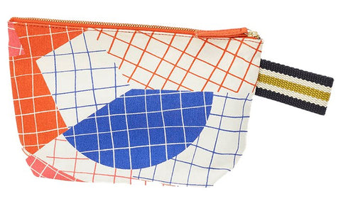 Printed Cotton Canvas Pochette Nima