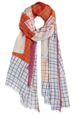 Printed Cotton Scarf Nima