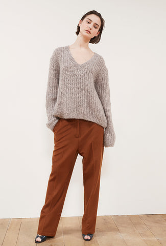 Odeon Knit Sweater - Taupe