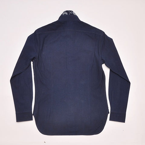 Indigo Cotton Shirt