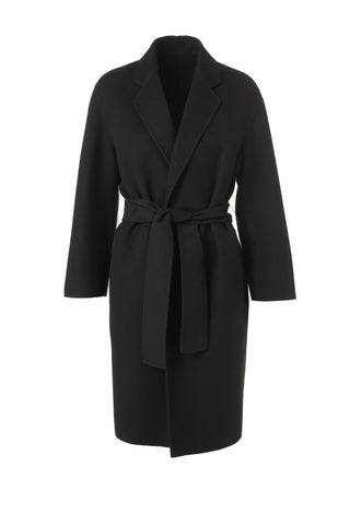 Cashmere Cappotto Coat - Black Exclusive to The Place London