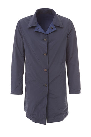 Reversible Wool and Nylon Coat