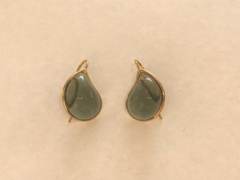 Teardrop Earrings - Topaz