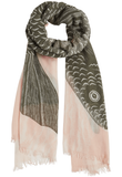 Printed Cotton Scarf Zephyr