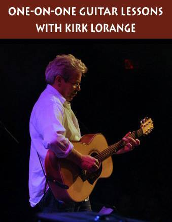 One-On-One Guitar Lesson with Kirk Lorange in Sydney