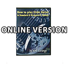 How to Play Slide In Standard Tuning - Online Streaming only