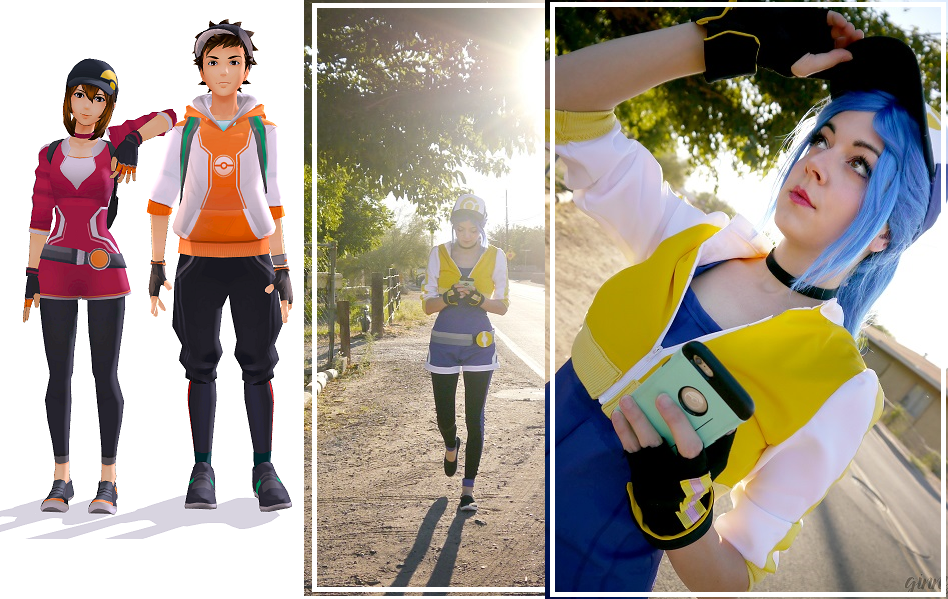 Pokemon Go Trainer Halloween outfit