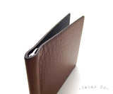 Cognac Brown Leather Money Clip / Pince à Billets Cuir Cognac