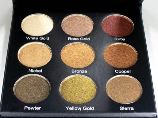 Purple Ladies™ Golden Eyeshadow Palette
