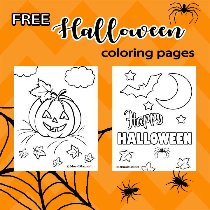 Free Halloween Coloring Page for Kids