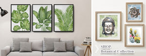 Botanical Home Decor wall art by MuralMax