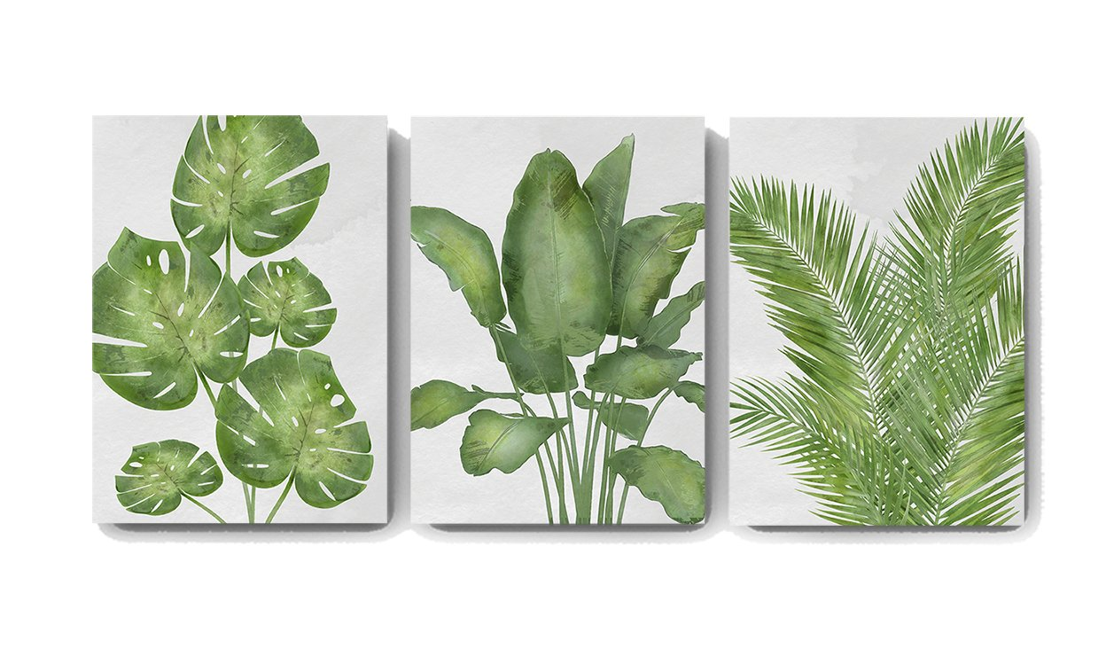 Botanical Wall Decor Banana Tree Palm Leaf Canvas Wall Art Muralmax Interiors Here you can explore hq tropical leaves transparent illustrations, icons and clipart with filter polish your personal project or design with these tropical leaves transparent png images, make it even. muralmax